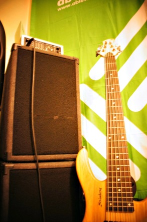 Strindberg 6 String Bass and Ashdown SuperFly 500
